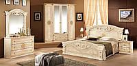 Рома спальня 4Д  (Мебель-Сервис) клен