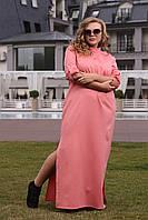 Женское длинное платье больших размеров (рр 48-94), разные цвета