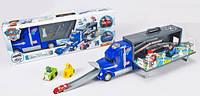 Детский гараж-трек Щенячий патруль XZ-355, 3 машинки