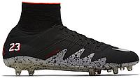 Футбольные бутсы Nike Hypervenom (найк) черные