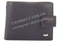 Прочный мужской кошелек бумажник из натуральной качественной кожи с сьемной визитницей PETEK art.PE49-594A чер