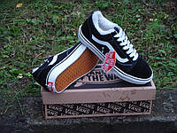 Зимние кеды VANS Old Skool black/white р.35-45