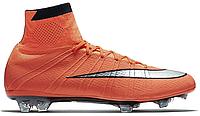 Футбольные бутсы Nike Mercurial Superfly 2016 (найк) оранжевые