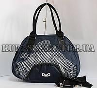 Оригинальная синяя женская сумка DOLCE&GABBANA на каждый день