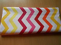 Лоскут ткани №186а размером 32*7 см