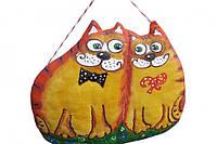 Сувенир ручной работы Коты и Любовь
