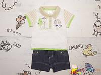 Нарядный летний костюм мальчику ТМ Garden Baby