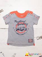 Нарядная футболка для мальчика ТМ Бемби