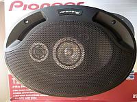 Фирменная автомобильная акустика Pioneer TS-A6942S. Колонки 3х полосные. Высокое качество. Купить. Код: КДН861