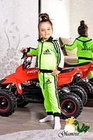 """Детский, яркий, неоновый, спортивный костюм """"ADIDAS"""" РАЗНЫЕ ЦВЕТА  размеры 74-100"""