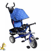 Велосипед Lexus Super Trike VT1421 синий пенные колеса