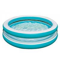 """Детский надувной бассейн """"Линза"""" Intex 57489 (203х51 см.)"""