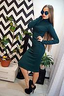 """Модное, осеннее платье-гольф """"Ангора, длинна миди""""  РАЗНЫЕ ЦВЕТА"""