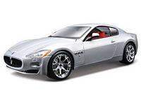 Bburago Авто-конструктор Bburago Maserati Gran Turismo (серебристый металлик, 1:24) 18-25083