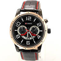 Часы мужские Curren Frost gold - black