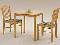 Деревянный стол Halmar Colin с квадратной столешницей