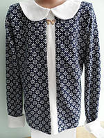 Красивая детская кофта-блуза с планочкой