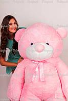 Большой плюшевый мишка мягкая игрушка 2м розовый