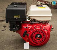 Двигатель бензиновый Победит ПДБ-188 (13 л.с. вал 25 мм. шпонка), фото 1