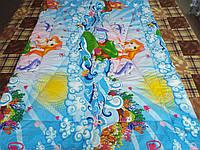 Одеяло стеганое чистая шерсть бязь премиум Русалочка