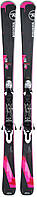 Горные лыжи женские Rossignol FAMOUS 2 + XPRESS W 10 B83 BLACK NEUTRAL (MD 17)