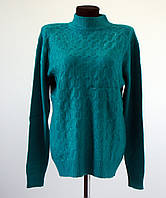 Женская теплая кофта размер 54-56 , в ассортименте 4 цвета: бирюза, сирень, терракот, синий