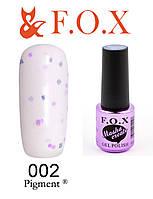 Гель-лак FOX Masha Create № 002 (розовый с конфетти)