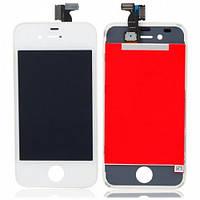Дисплей с Тачскрином (LCD+TOUCH) для iPhone 4S белый (Оригинал)