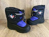 Термосапоги Сапоги Сноубутсы Ботинки на Мальчика 22-27 р