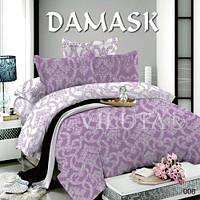 008 Евро постельное белье DAMASK Поплин Viluta