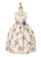 Изысканное цветочное платье  2-10 лет (2 цвета)