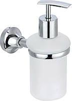 Дозатор настенный для жидкого мыла, стекло Arino Lounge