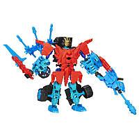 Трансформеры Concstract bots Dinobot - Autobot Drift & Roughneck Dino