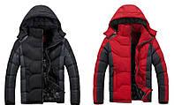 Теплая зимняя мужская куртка пуховик Camel