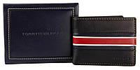 Кожаный кошелек Tommy Hilfiger Оригинал из Америки в фирменной упаковке кожаное портмоне Томми Хилфигер