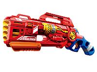 Игрушечное оружие. Детский электронный игрушечный пистолет стреляющий мягкими пулями. soft bullet gun set 7067