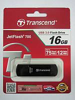 Флешка Transcend 16Gb JetFlash 700 USB3 -> USB2