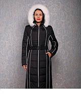 Женское пальто из плащевки р-44-72