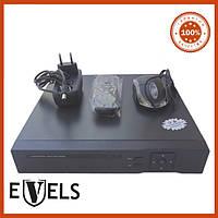 Видеорегистратор 4-х канальный EV-DVH4 с потдержкой AHD Evels