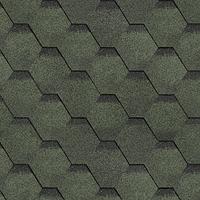 Зеленый. Нарезка Соната (Коллекция Финская черепица)