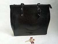Кожаная вместительная сумка 0667