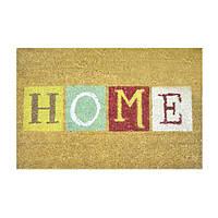 Коврик придверный кокосовый Мой Дом Home, 40x60см