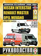 Книга Renault Master дизель 2003-10 Инструкция по техобслуживанию, эксплуатации и ремонту
