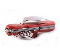 Туристический набор 6в1 ложка вилка нож
