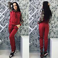 """Стильный спортивный костюм """" Леопардовые рукава """" Dress Code"""