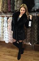 """Шубка-пальто из меха кролика """"Mia"""" 44 размер в наличии"""