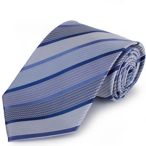 Привлекательный мужской широкий галстук SCHONAU & HOUCKEN (ШЕНАУ & ХОЙКЕН) FAREPS-59 голубой