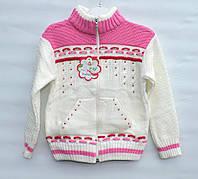 Кофта для девочки 4-6 лет Papilon белая