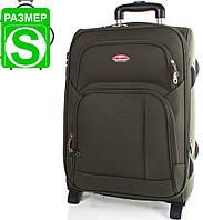Компактный маленький чемодан на 2-х колесах Suitcase (Сьюткейс) АPT001S-16 (Зелёный)