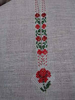 Намисто з червоною квіткою (Ожерелье с красным цветком) DN-0007